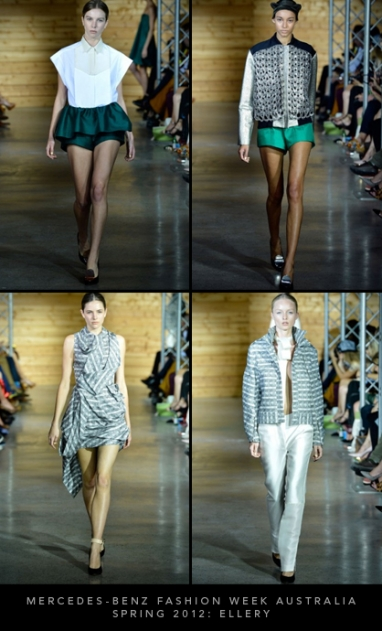 Mercedes-Benz Fashion Week Australia Spring 2012: Ellery