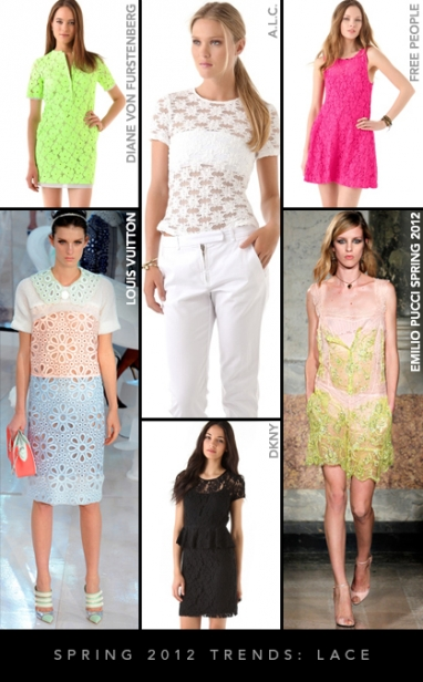 Spring 2012 Trends: Lace