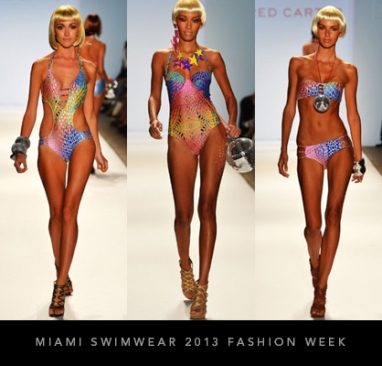 Mercedes-Benz Fashion Week Swim Miami 2013: Red Carter