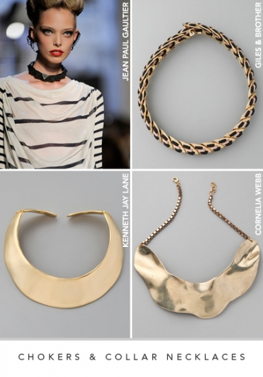 LUX Style: Chokers and collar necklaces