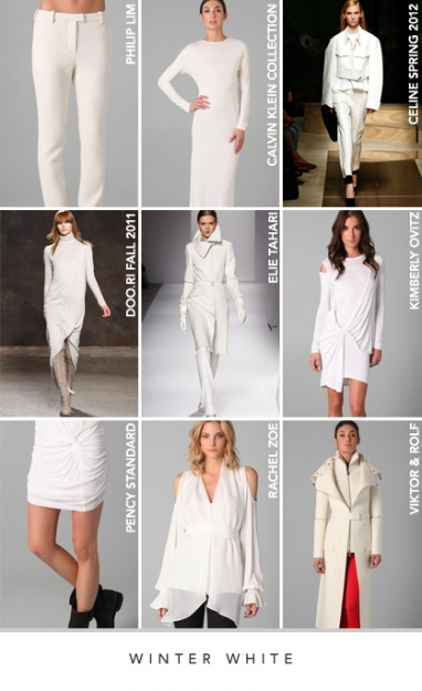 LUX Style: Winter white
