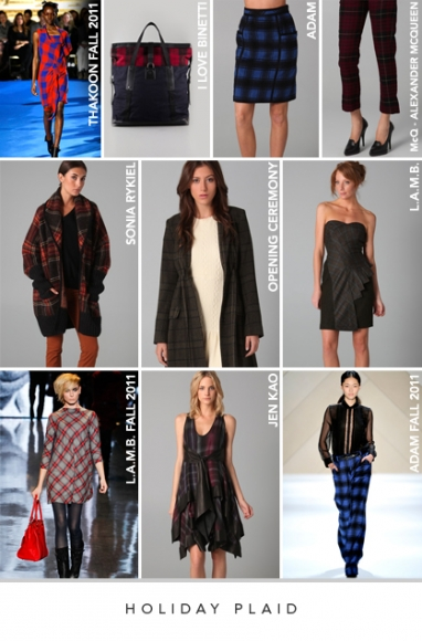 LUX Style: Holiday plaid