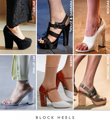 Spring 2012 Runway Trends: Footwear