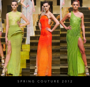 Spring Couture 2012: Versace