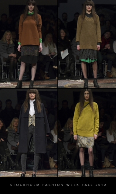 Stockholm Fashion Week Fall 2012: Whyred