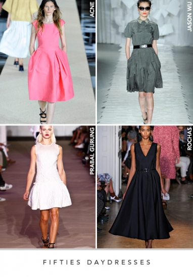 Spring 2012 Runway Trends: Apparel