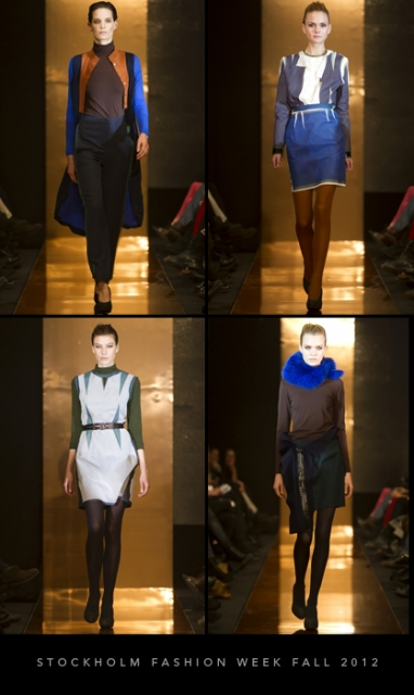 Stockholm Fashion Week Fall 2012: H&M Design Award winner Stine Riis