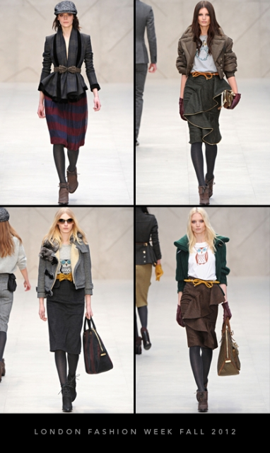 London Fashion Week Fall 2012: Burberry Prorsum