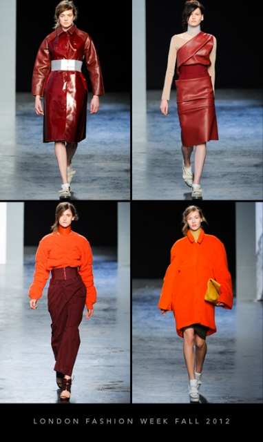 London Fashion Week Fall 2012: Acne