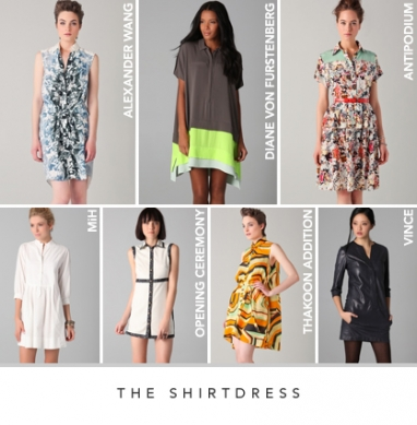 LUX Style Spring 2012: The shirtdress