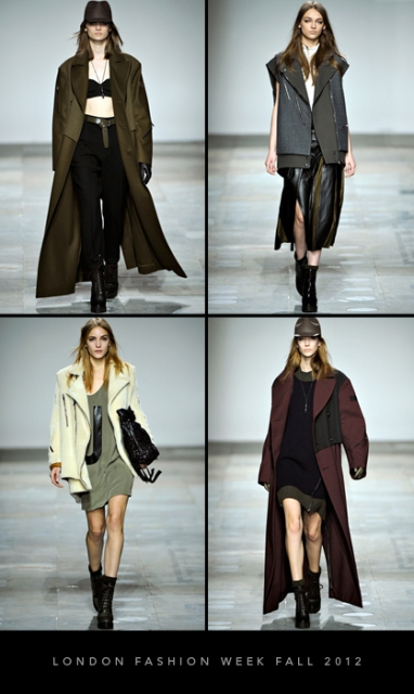 London Fashion Week Fall 2012: Topshop Unique