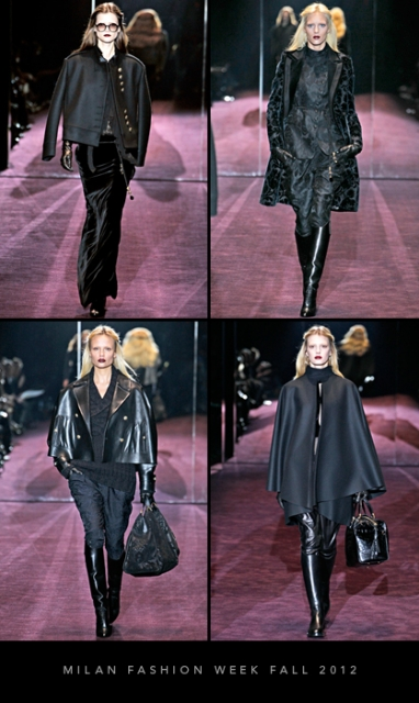 Milan Fashion Week Fall 2012: Gucci