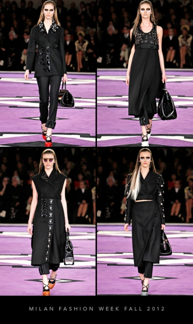 Milan Fashion Week Fall 2012: Prada