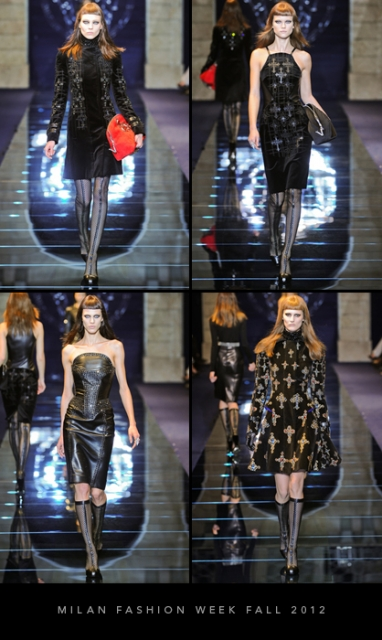 Milan Fashion Week Fall 2012: Versace