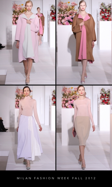 Milan Fashion Week Fall 2012: Jil Sander