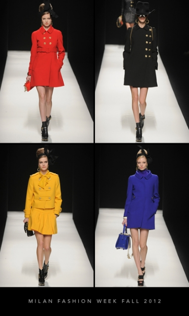 Milan Fashion Week Fall 2012: Moschino