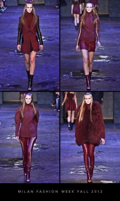 Milan Fashion Week Fall 2012: Versus