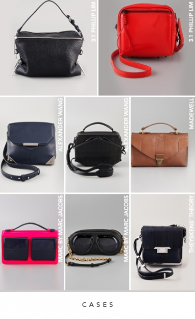 LUX Style Spring 2012 Handbags: Cases