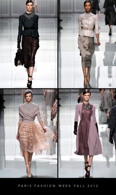 Paris Fashion Week Fall 2012: Christian Dior
