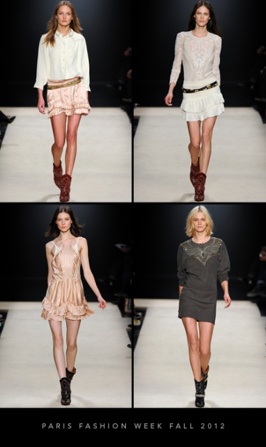 Paris Fashion Week Fall 2012: Isabel Marant