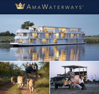 Journey into Africa on a safari cruise