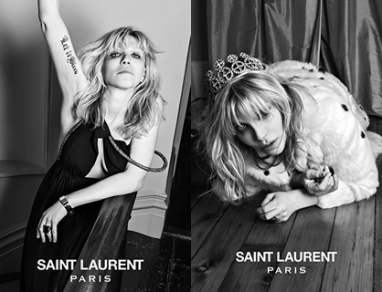 Courtney Love is the New Face of Saint Laurent