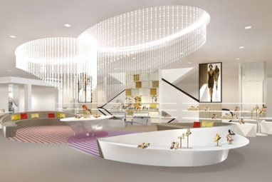 Saks Fifth Avenue expands 10022-Shoe department