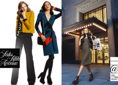 "Saks @ it again: New ad campaign ""@ Saks"""