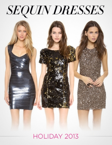 LUX Style: Sequin Dresses