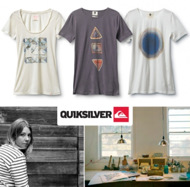 Quiksilver collaborates with artist Serena Mitnik-Miller for Fall line