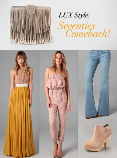 LUX Style: Seventies Comeback!