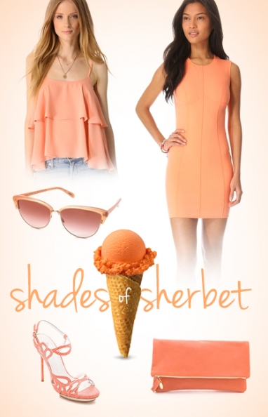 How to Wear: Shades of Sherbet