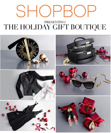 LUX Holiday Shop: Shopbop presents The Holiday Gift Boutique + 10 favorite gifts