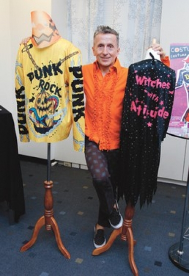 Simon Doonan to debut Halloween costumes