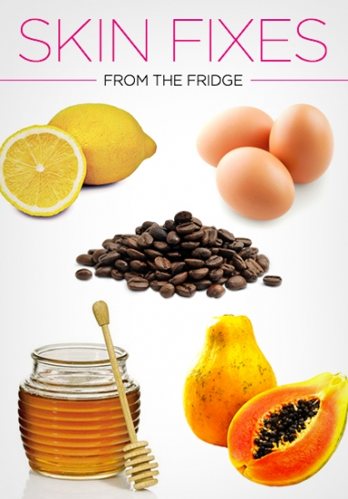 10 Secret Skin Fixes From Your Kitchen