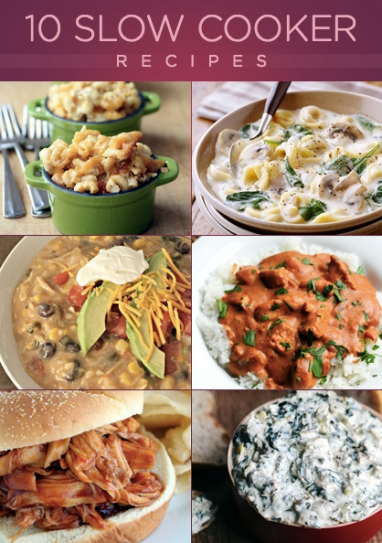 10 Slow Cooker Recipes