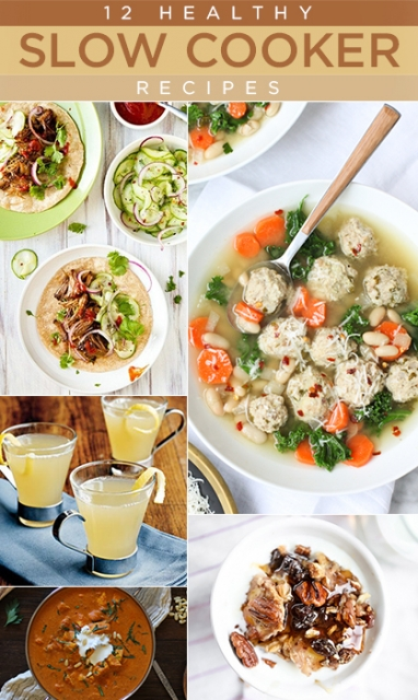 12 Healthy Slow Cooker Recipes You Need to Try