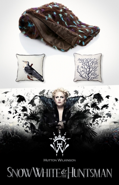 "Hutton Wilkinson teams up with HSN for exclusive ""Snow White and the Huntsman"" collection"