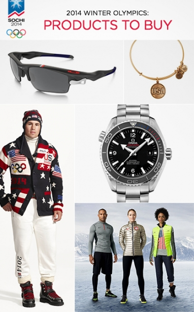 2014 Winter Olympics: Products To Buy