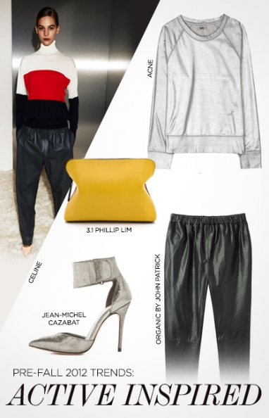 Pre-fall 2012 trends: active-inspired