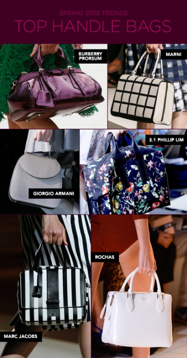 Spring 2013 must-have handbags
