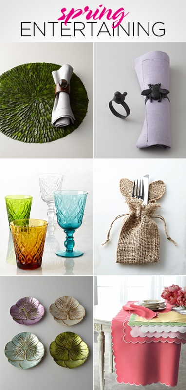 LUX Home: 7 Spring Entertaining Must-Haves