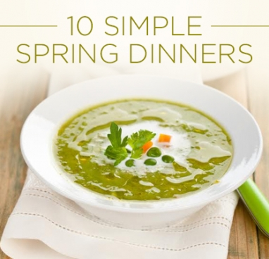 10 Spring Dinners in 30 Minutes (Or Less)