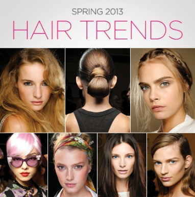 LUX Beauty: 7 Spring 2013 Hair Trends