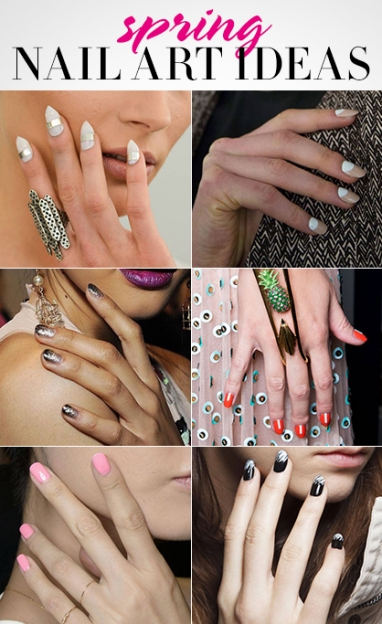 LUX Beauty: 6 Nail Art Ideas For Spring
