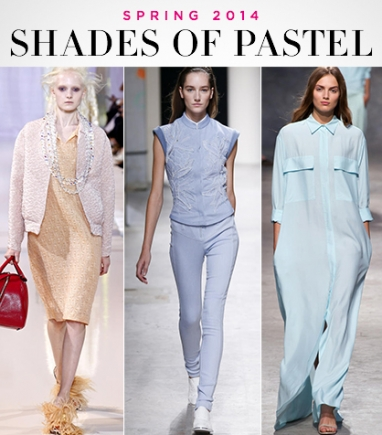 Spring 2014: Shades of Pastel