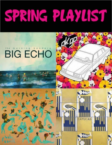 Turn it Up Tuesday: Spring Playlist