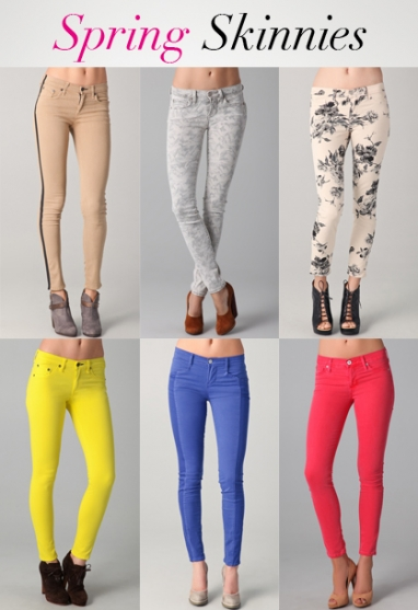 LUX Style: Spring Skinnies