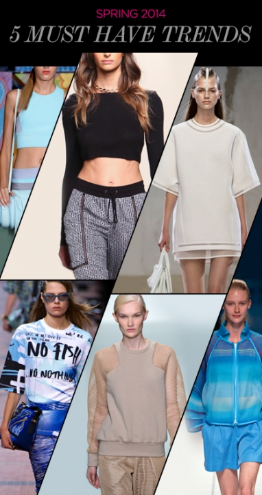 Spring 2014: 5 Must-Have Trends