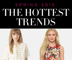 Spring 2015: Favorite Fashion Trends